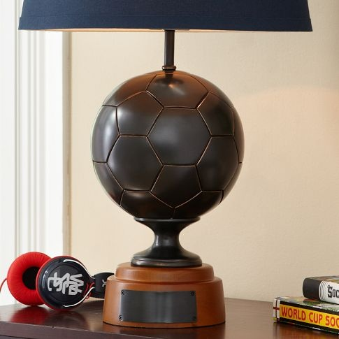 Soccer Lamp Base | PBteen