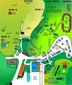 Peta Area Terminal Wisata Grafika Cikole