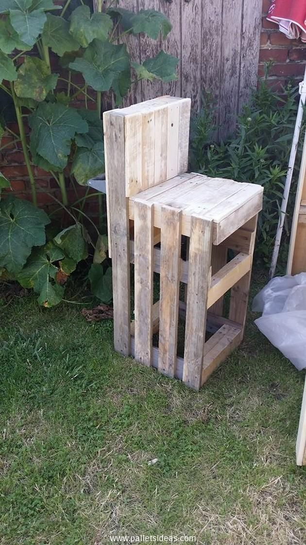 Wood Pallet Made BBQ Space