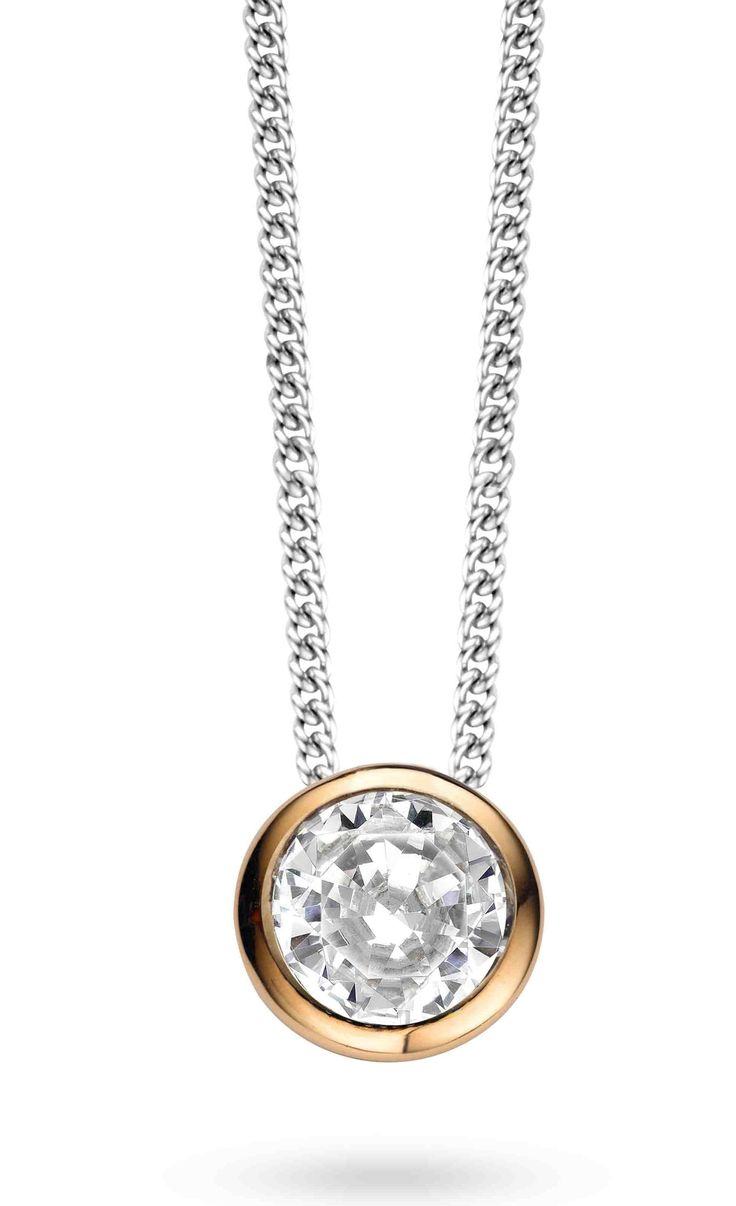 Ti Sento Sterling Silver Rose Gilded Pendant 3807ZR/42 @ Campbell Jewellers Donnybrook & Citywest  http://campbelljewellers.com/jewellery/ti-sento-campbell-jewellers/ti-sento-pendants-chains/ti-sento-sterling-silver-rose-gilded-pendant.html
