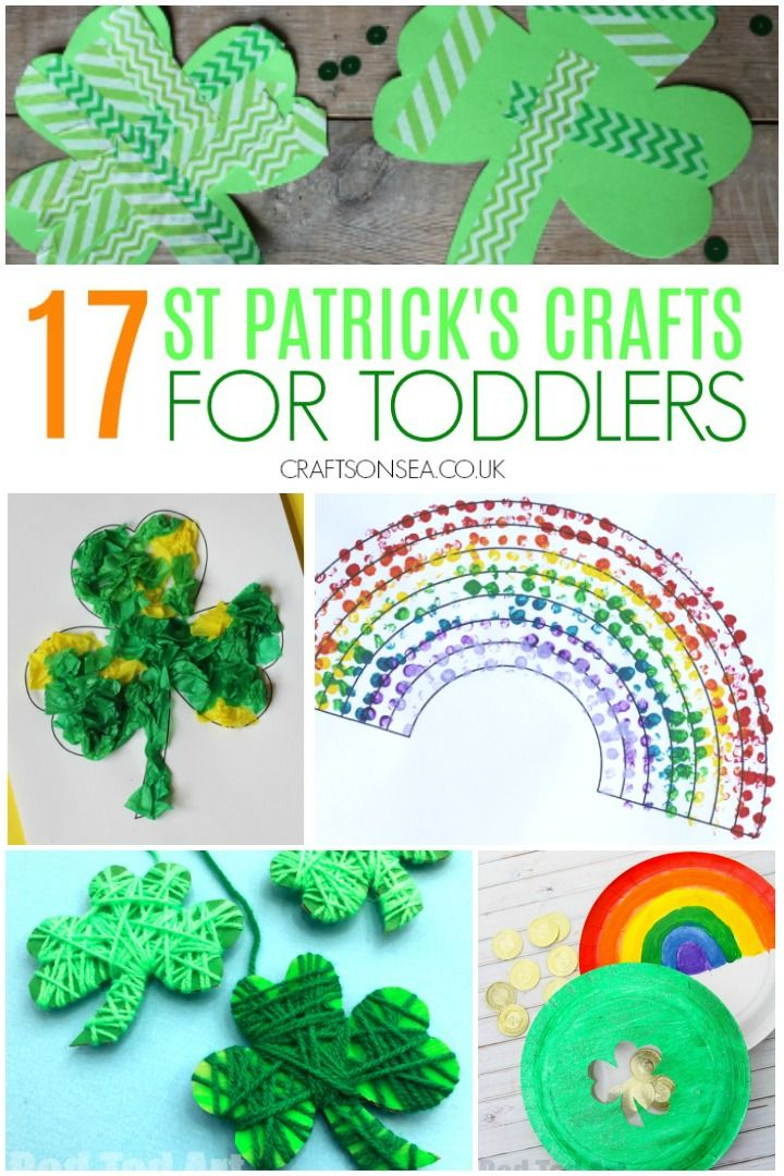 Easy And Fun St Patrick S Day Crafts For Toddlers Toddler Crafts