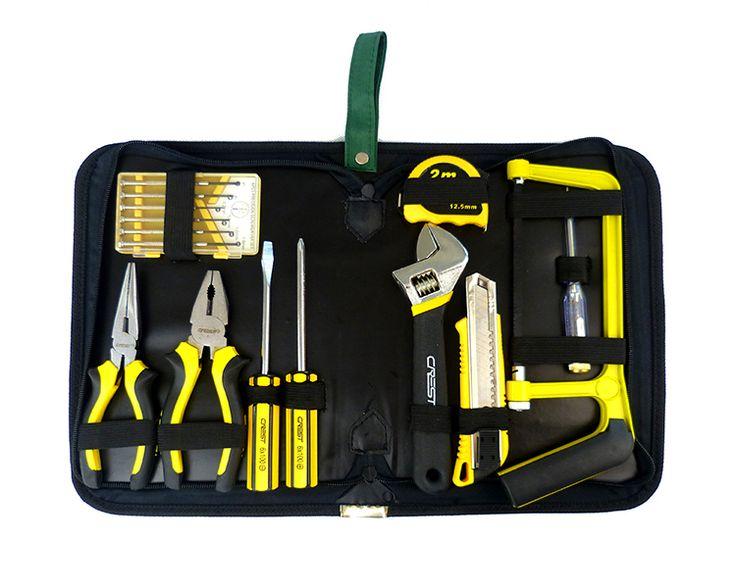 Electrical Tool Bag Mini Screwdriver Hand Tool Set & Cabinet Auto Home Repair Kit