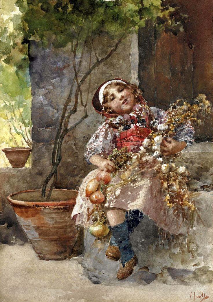 Детско-Материнское...масло и акварель | Vincenzo Irolli (часть 2.). Обсуждение на LiveInternet - Российский Сервис Онлайн-Дневников