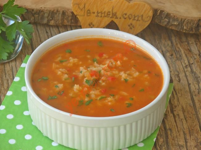 Pirinç Çorbası Resimli Tarifi - Yemek Tarifleri