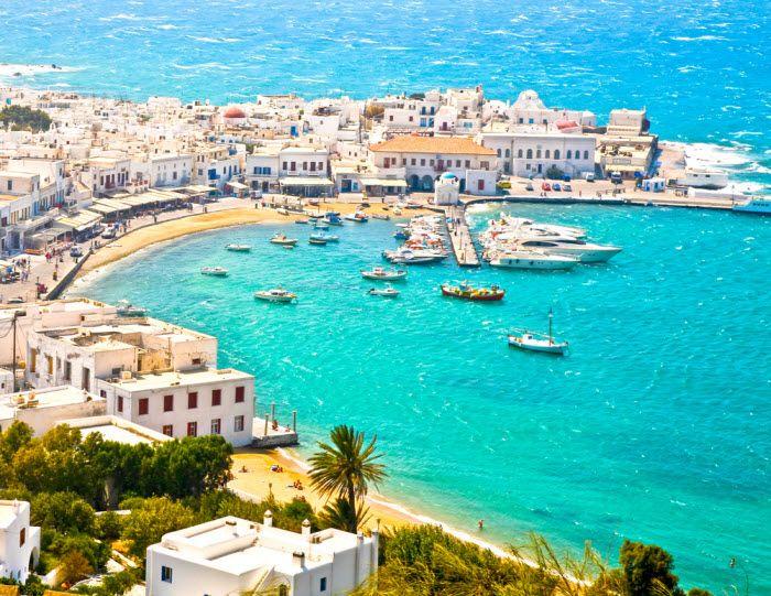 7 ilhas gregas + a mais bela praia do mundo = um paraíso em terra   Skyscanner
