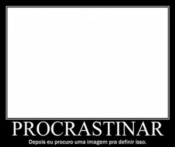 Procrastinação | CBBlogers