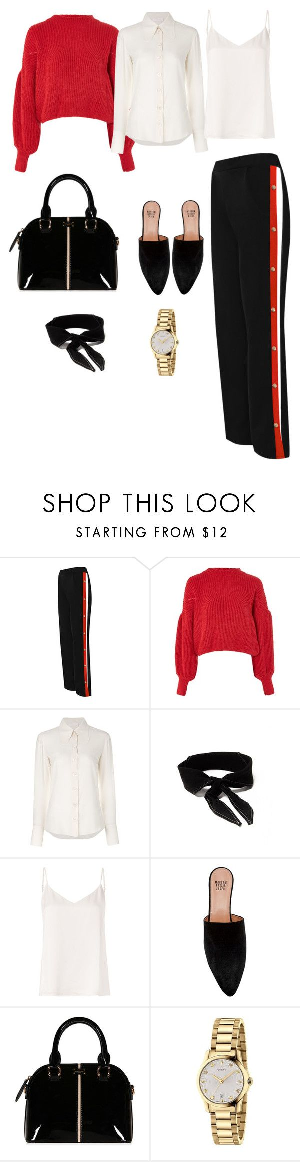 """layering"" by natyapshopper on Polyvore featuring moda, WearAll, Nobody's Child, Chloé, L'Agence, Maryam Nassir Zadeh y Gucci"