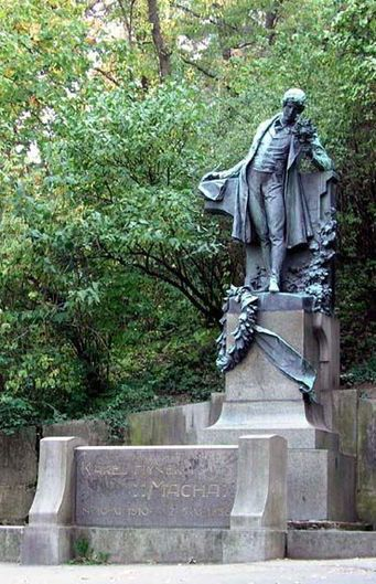 Josef Václav Myslbek - Poet Karel Hynek Mácha at Petřín, Prague, Czechia #sculpture #Czechia #CzechArt #art #memorial