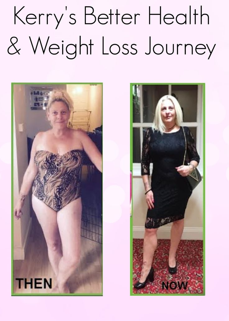 Today's post is a guest post from Kerry who shares her better health and weight loss journey. Congratulations Kerry on your success
