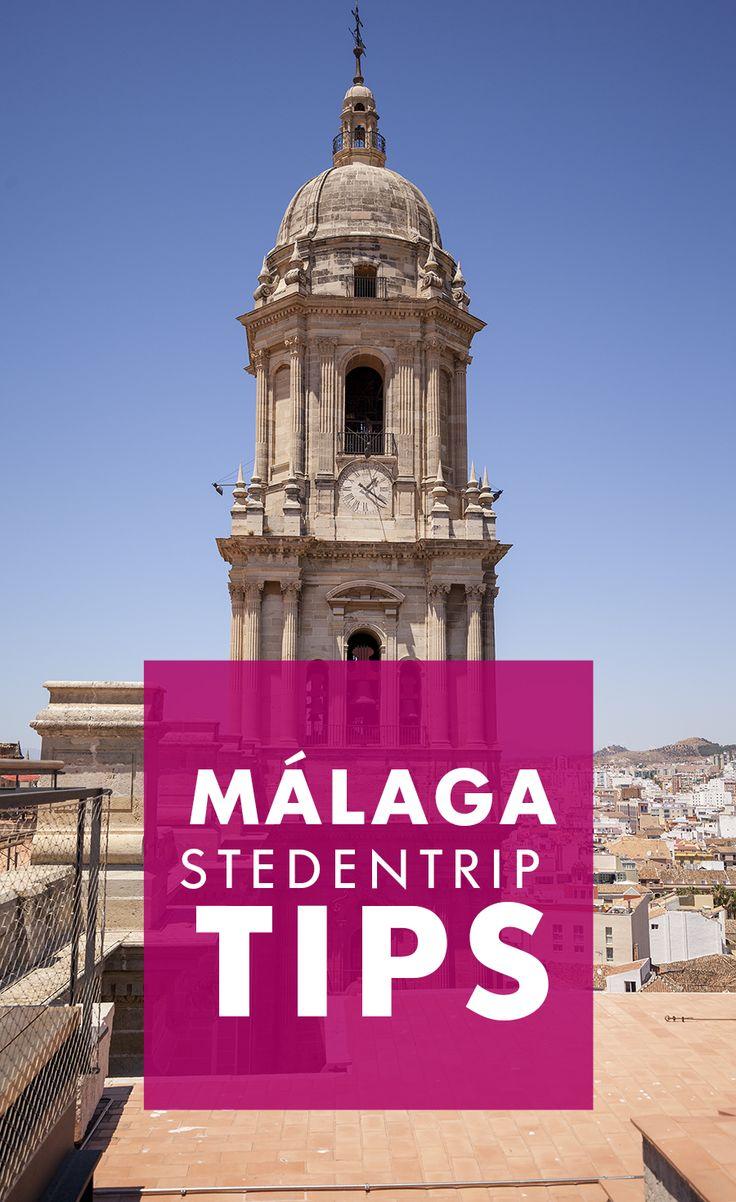 Stedentrip Málaga? Ontdek hier de leukste tips die je citytrip naar Málaga nog leuker maken!