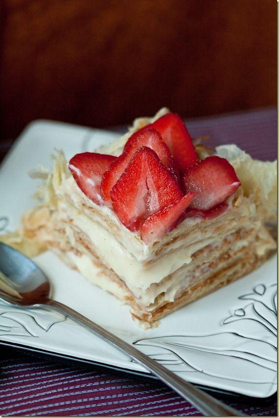 """""""Napoleon"""" & Pastry Cream - {Торт """"Наполеон"""" и Заварной Крем}"""