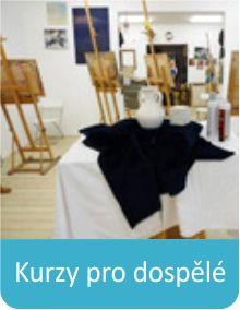 Kurzy pro dospělé ve Výtvarném atelieru Malování kreslení, o.s. www.malovanikresleni.cz