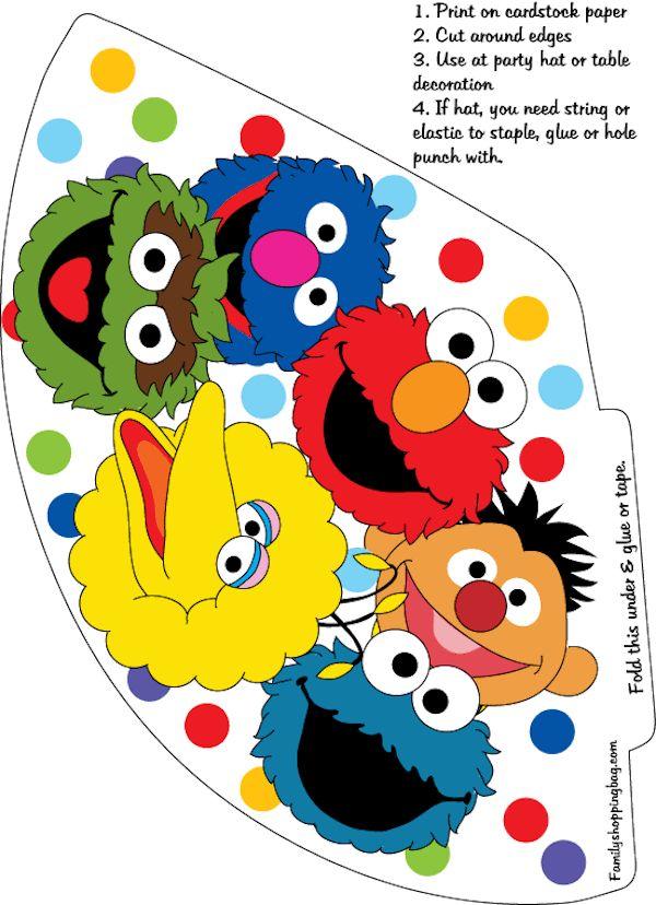 Homemade Parties_DIY Party_Sesame Street Printables02