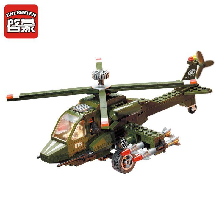 $19.88 (Buy here: https://alitems.com/g/1e8d114494ebda23ff8b16525dc3e8/?i=5&ulp=https%3A%2F%2Fwww.aliexpress.com%2Fitem%2FEnlighten-Combat-Zones-Series-ABS-Environmental-Plastic-Building-Block-Helicopter-Construction-Brick-Toys-Kid-Educational-Toys%2F32702855978.html ) Enlighten Combat Zones Series ABS Environmental Plastic Building Block Helicopter Construction Brick Toys Kid Educational Toys for just $19.88