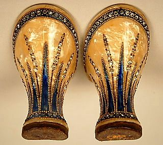 1920's Art Deco Jeweled Heels. Talk about amazing attention to detail. Beautiful!