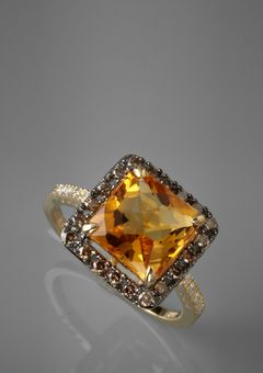 My birthstone...which I normally don't like...but this ring is gorgeous!