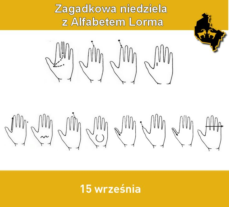 Zagadkowa niedziela z alfabetem Lorma - Towarzystwo Pomocy Głuchoniewidomym Wielkopolska Jednostka Wojewódzka #Lorm #alfabetLorma #AlphabetLorm #LormHand #Lorma #Lormen #deafblind