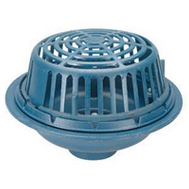 Zurn 15-inch Diameter Round Cast Iron/ Poly Roof Drain (Blue)