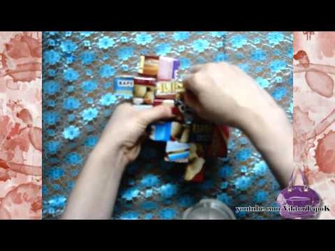 How to Make Candy Wrapper Bags Because I don't eat enough candy to make one I'm using magazine pages!!(p.s using the same technique you can make a bracelet)
