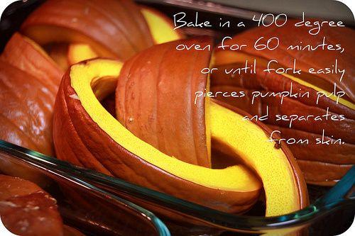 Homemade pumpkin pie -- from a real pumpkin