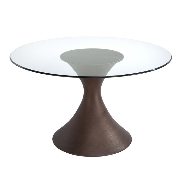 Glass Dining Table Brownstone Ca303