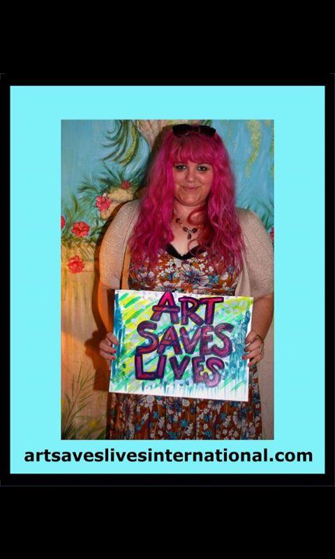 Charlotte Farhan Art #artsaveslivesinternational #artsavespeople #artsaveslives