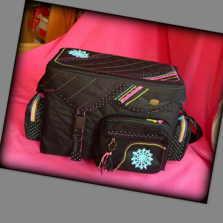Handmade by Judy Majoros - Camera bag