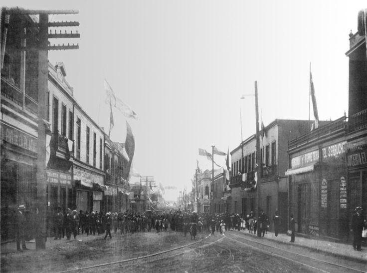 Calle Arturo Prat de Antofagasta en 1921 - EnterrenoEnterreno