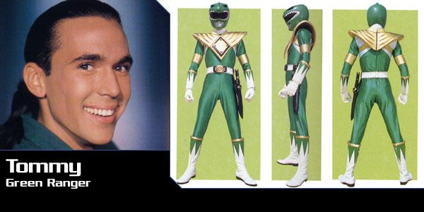 Jason David Frank AKA Tommy Oliver the Green/white/red/black... etc ranger from the many power ranger shows.  I still think he's pretty hot!   C'mon, I can't be the only one who thinks so!