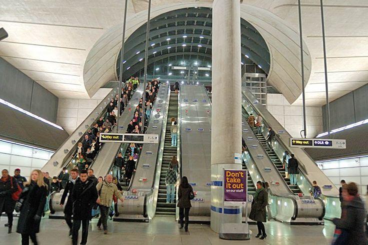 London Docklands – Canary Wharf Jubilee LineTubeStation