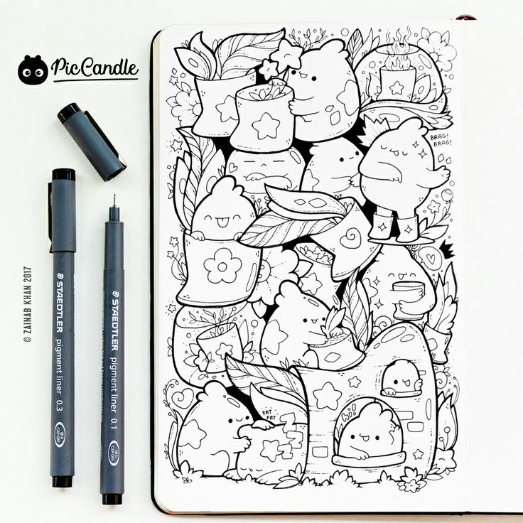 126 best pic candle doodles images on pinterest doodle for Doodle characters