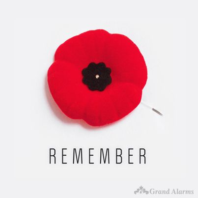 Lest We Forget #RemembranceDay