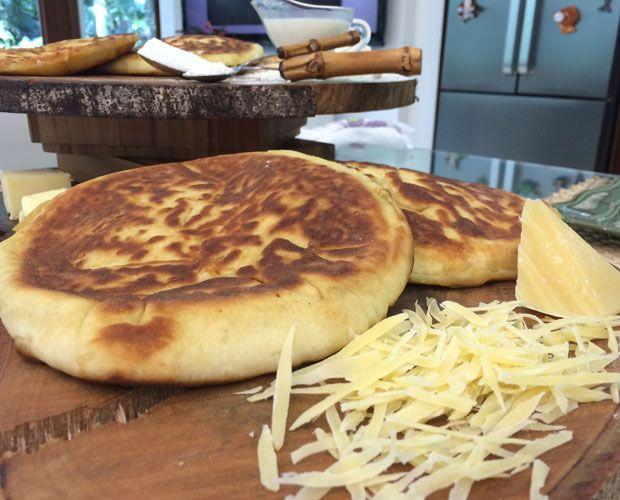 Pão Indiano De Frigideira - Khachapuri | Pães e salgados > Receitas de Pão | Mais Você - Receitas Gshow