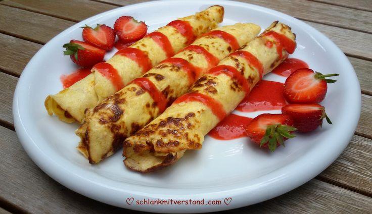 low carb Crêpes – dünne Pfannkuchen Crêpes sind sehr dünne Pfannkuchen und in ganz Frankreichals Imbissbeliebt.Traditionell werden Crêpes aus Mehl, Milch und Eiern herstellt und auf…