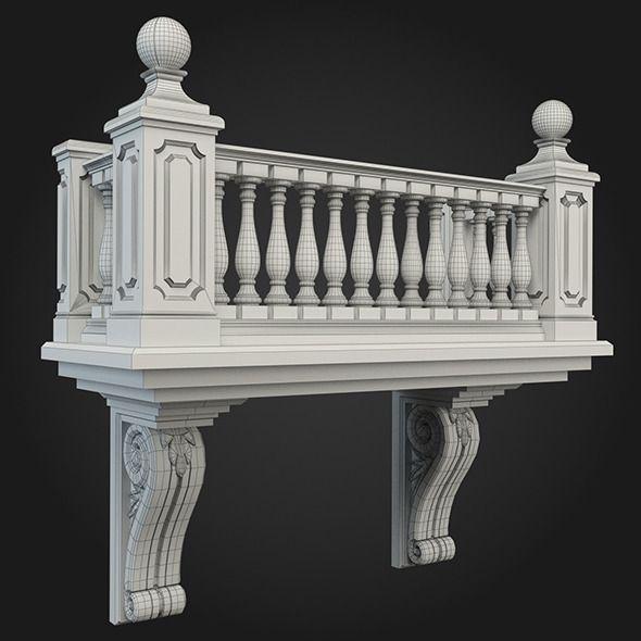 Home Design Gate Ideas: Classic House Design, Balcony Design