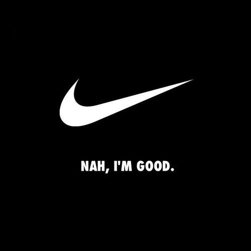 Nike print ad parody | Print Ads | Graphic Design ...