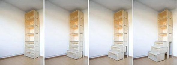 book shelf ladder Ladder Shelf