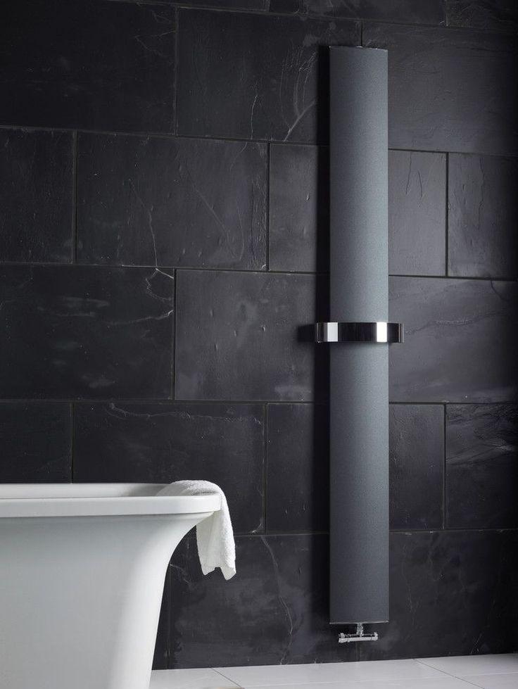 Биметаллические радиаторы отопления (56 фото): какие лучше, преимущества и особенности расчетов http://happymodern.ru/bimetallicheskie-radiatory-otopleniya-56-foto-kakie-luchshe-preimushhestva-i-osobennosti-raschetov/ Эффектный радиатор с черной матовой поверхностью в ванной комнате