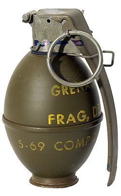 M61 Fragmentation Hand Grenade...for those times when a bullet just won't do