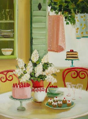 Sweet Art (by artist Janet Hill) – Glorious Treats