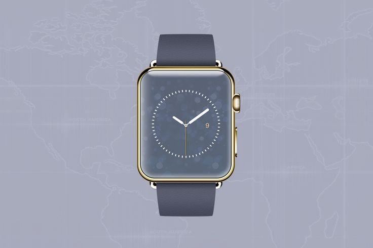 Elegant Bokeh wallpaper designed for  watch