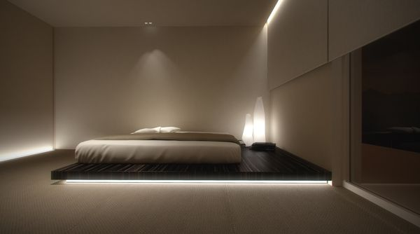 Bedroom with private area | by Oporski Architektura