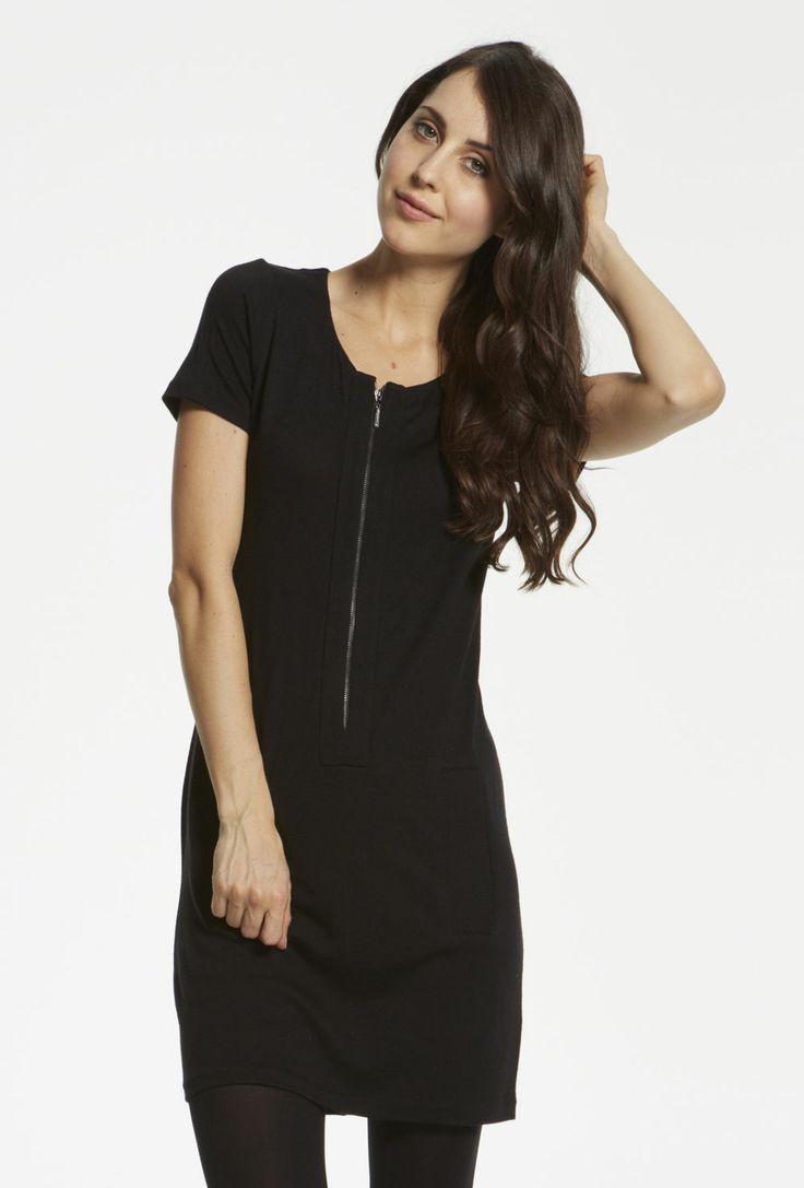 Merino 1/2 Zip Dress $119.00