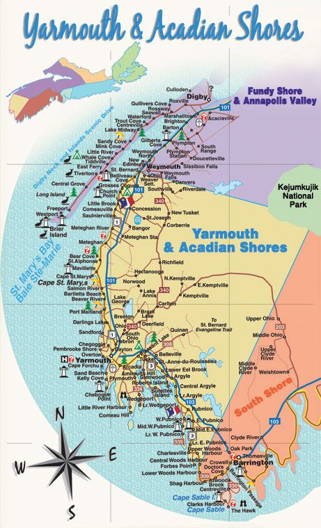 yarmouth nova scotia | Yarmouth and Acadian Shores | Motorcyle Tour Guide Nova Scotia