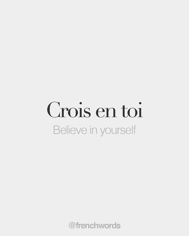 Crois en toi • Believe in yourself • /kʁwa ɑ…