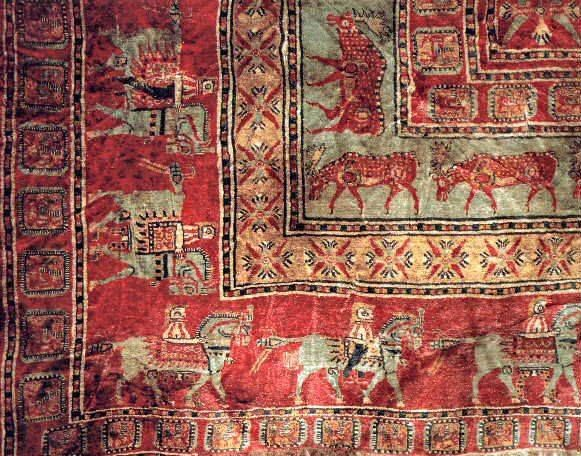 A 2500 year old Turkish carpet The oldest known carpet in the world found in Pazyryk, Altai Mountains of Central Asia- Turks are well known for their carpet weaving culture. Their present day carpets and kilims are known throughout the world. Carpet weaving is a very old Turkish culture that goes back in history for thousands of years. The oldest known carpet in the world is a Saka carpet discovered by archaeologists in Central Asia.