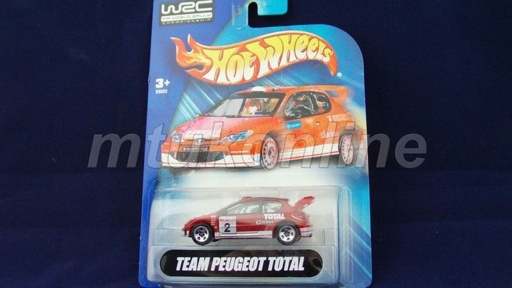 HOTWHEELS 2004 WRC | TEAM PEUGEOT TOTAL | B9605