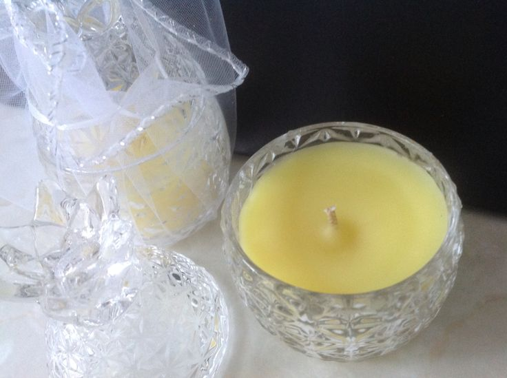 Mini Pineapple Candle Jar filled with Citrus Bliss OzSoy Scented Wax.  2 in stock $15 ea
