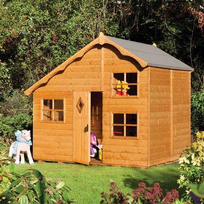 Rowlinson Swiss Cottage Playhouse & Reviews   Wayfair