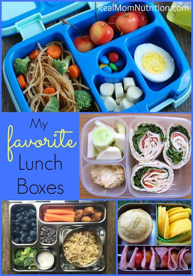 My Favorite Lunch Boxes For Kids - Real Mom Nutrition
